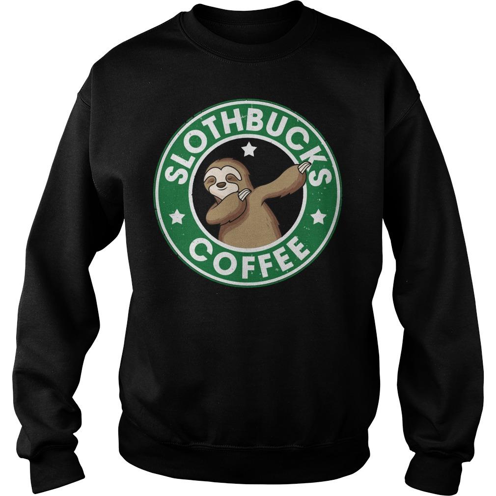 Slothbucks coffee sweater