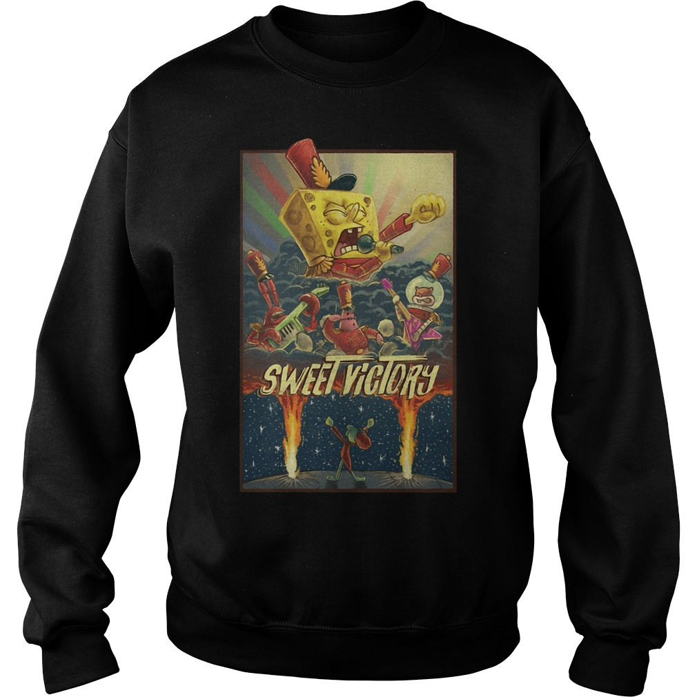 Sweet Victory SpongeBob Version kid sweater