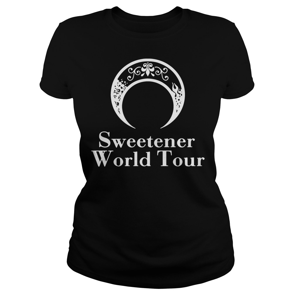 Sweetener world tour ladies tee