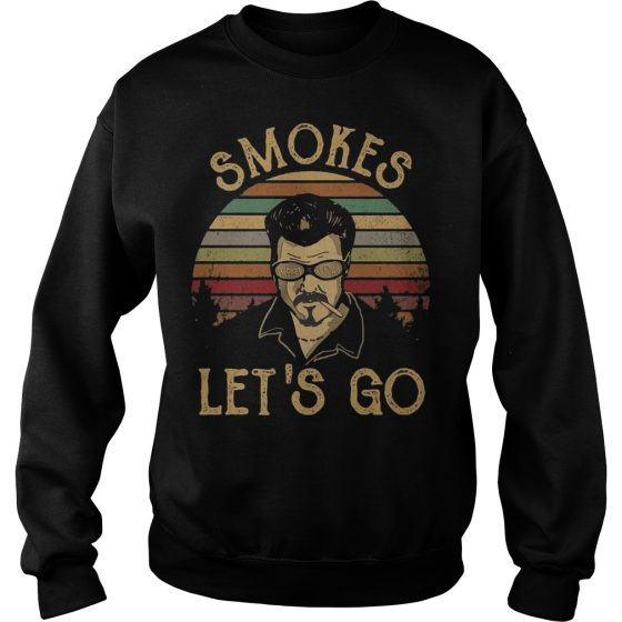 Trailer Park Boys Smokes Let's Go vintage sweater