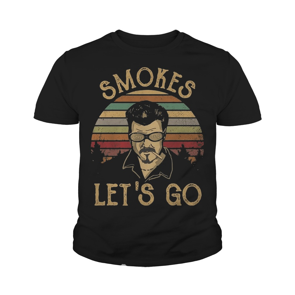 Trailer Park Boys Smokes Let's Go vintage youth tee