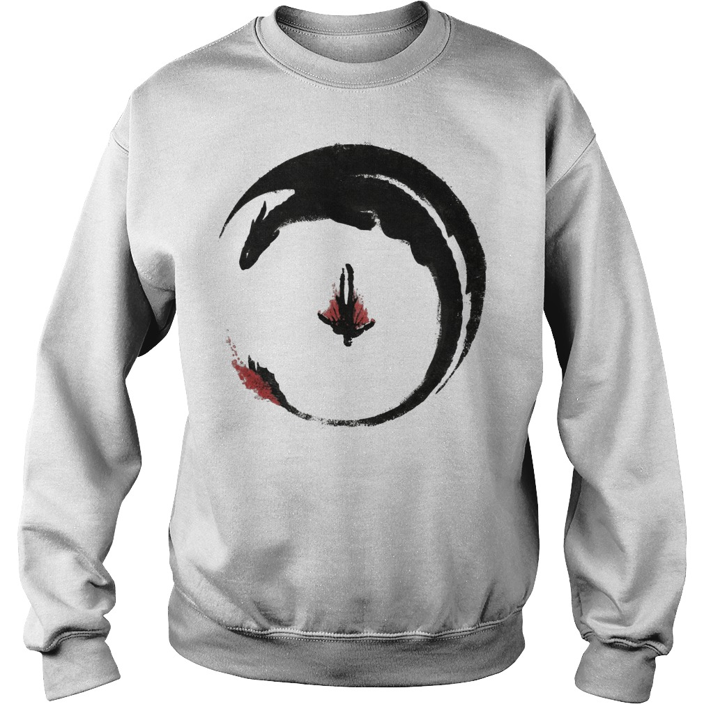 Viking Dragon Emblem sweater
