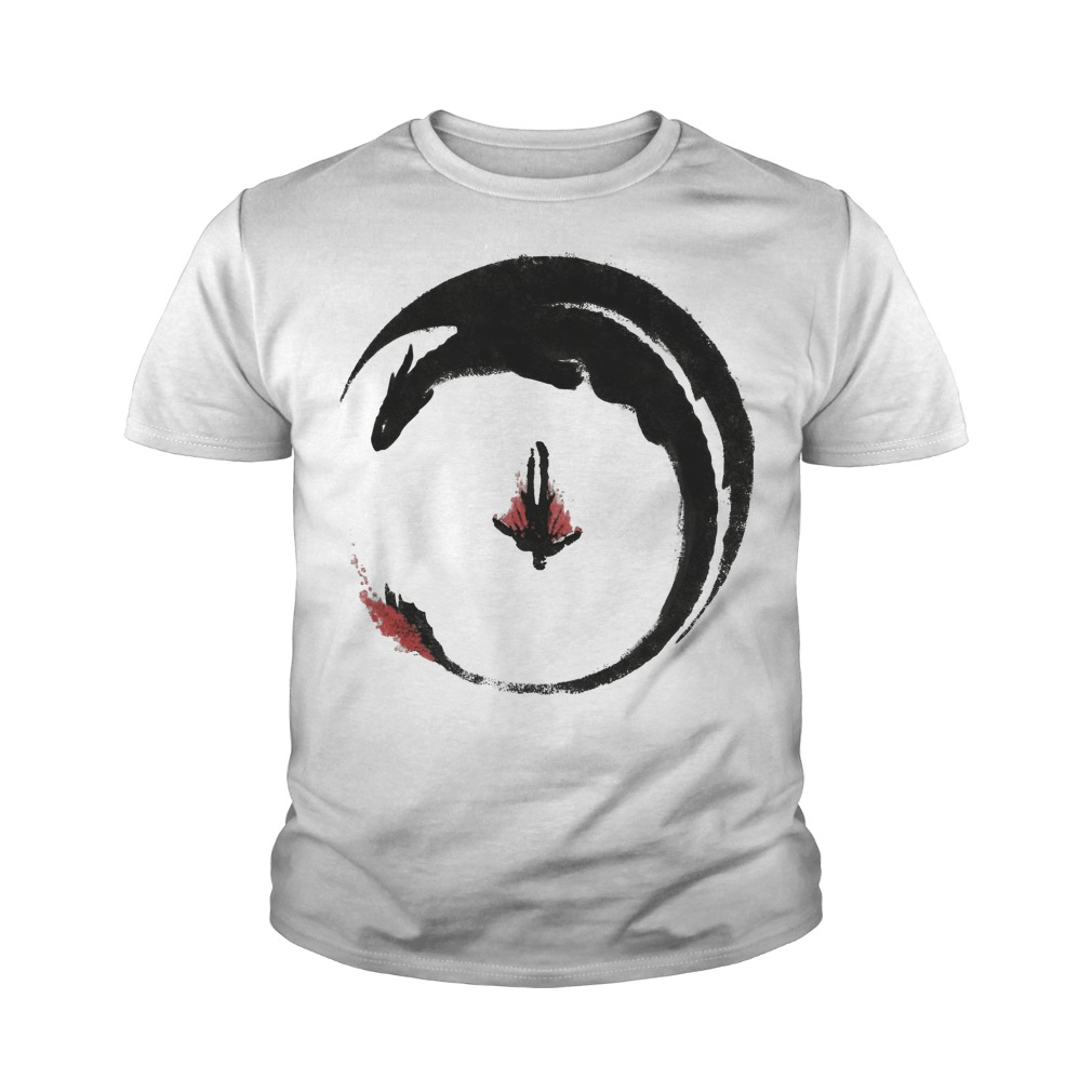 Viking Dragon Emblem youth tee