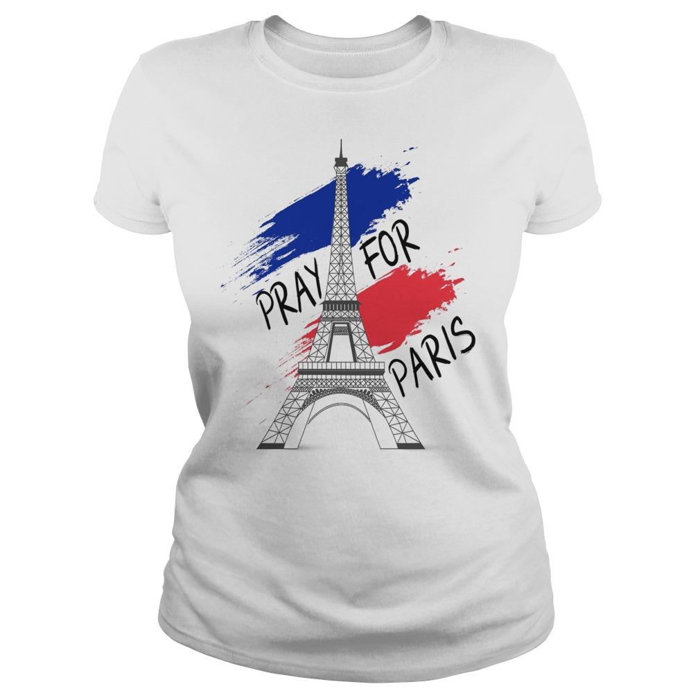 375525ba86 Eiffel Tower pray for Paris shirt, hoodie, sweater and long sleeve
