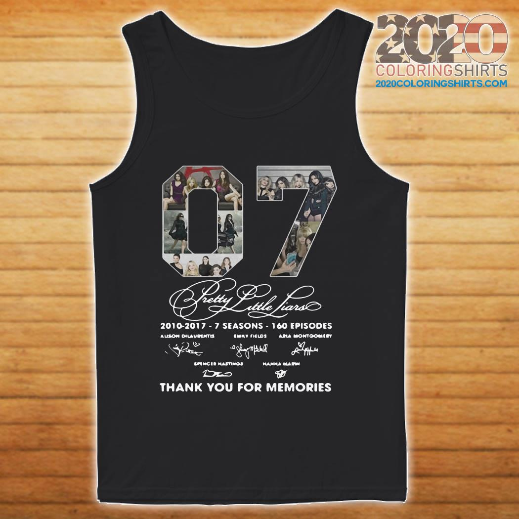 07 Pretty Little Liars Thank You For Memories tank top