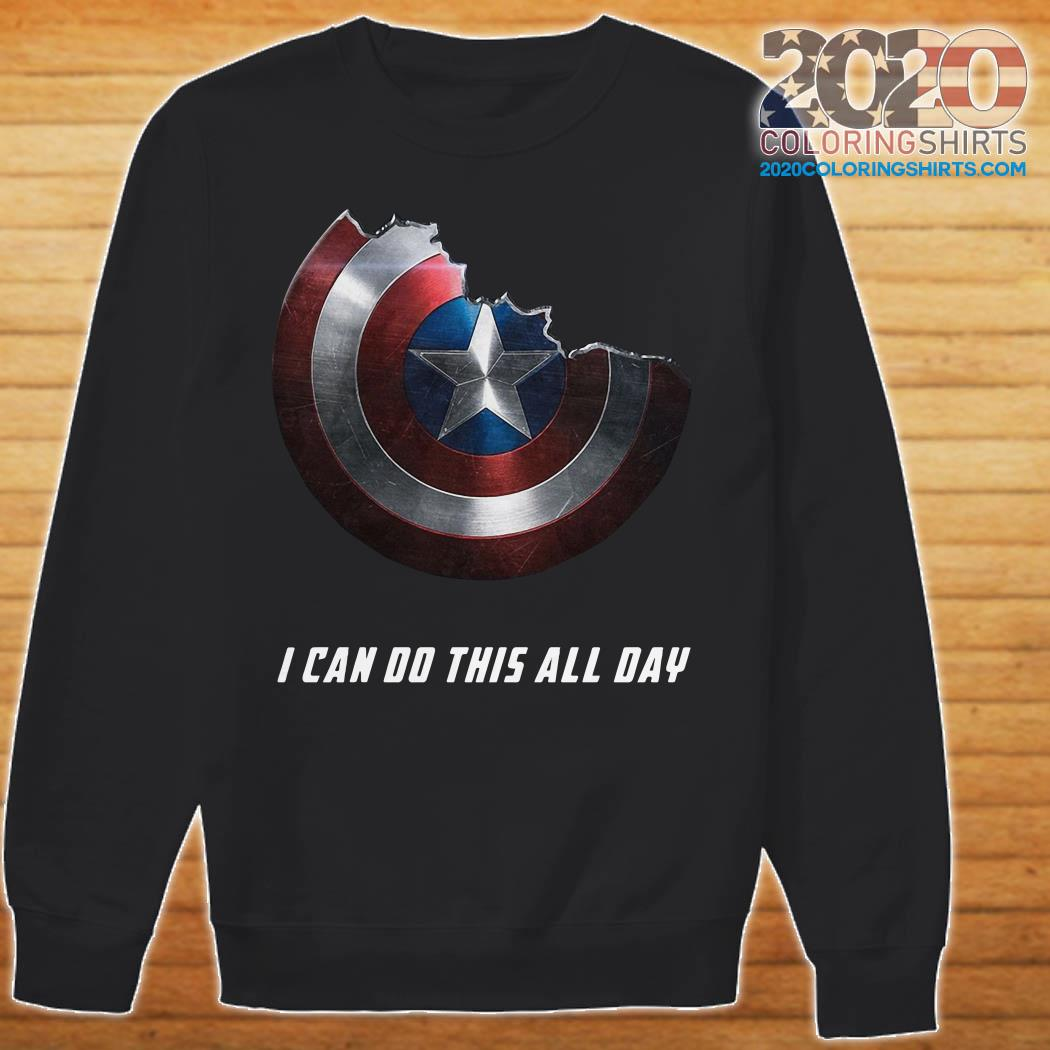 Captain America Shield I Can Do This All Day sweater