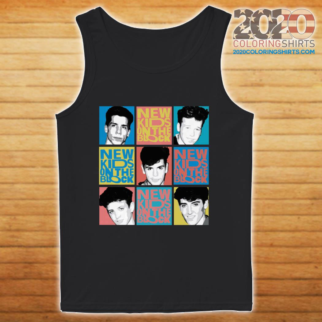 New Kids On The Block Vintage tank top