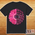 Pink Flower Breast Cancer Survivor ShirtPink Flower Breast Cancer Survivor Shirt