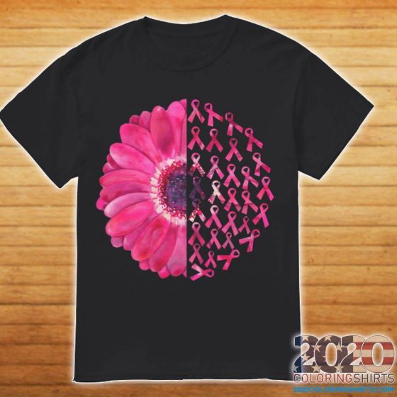 Pink Flower Breast Cancer Survivor ShirtPink Flower Breast Cancer Survivor Shirt