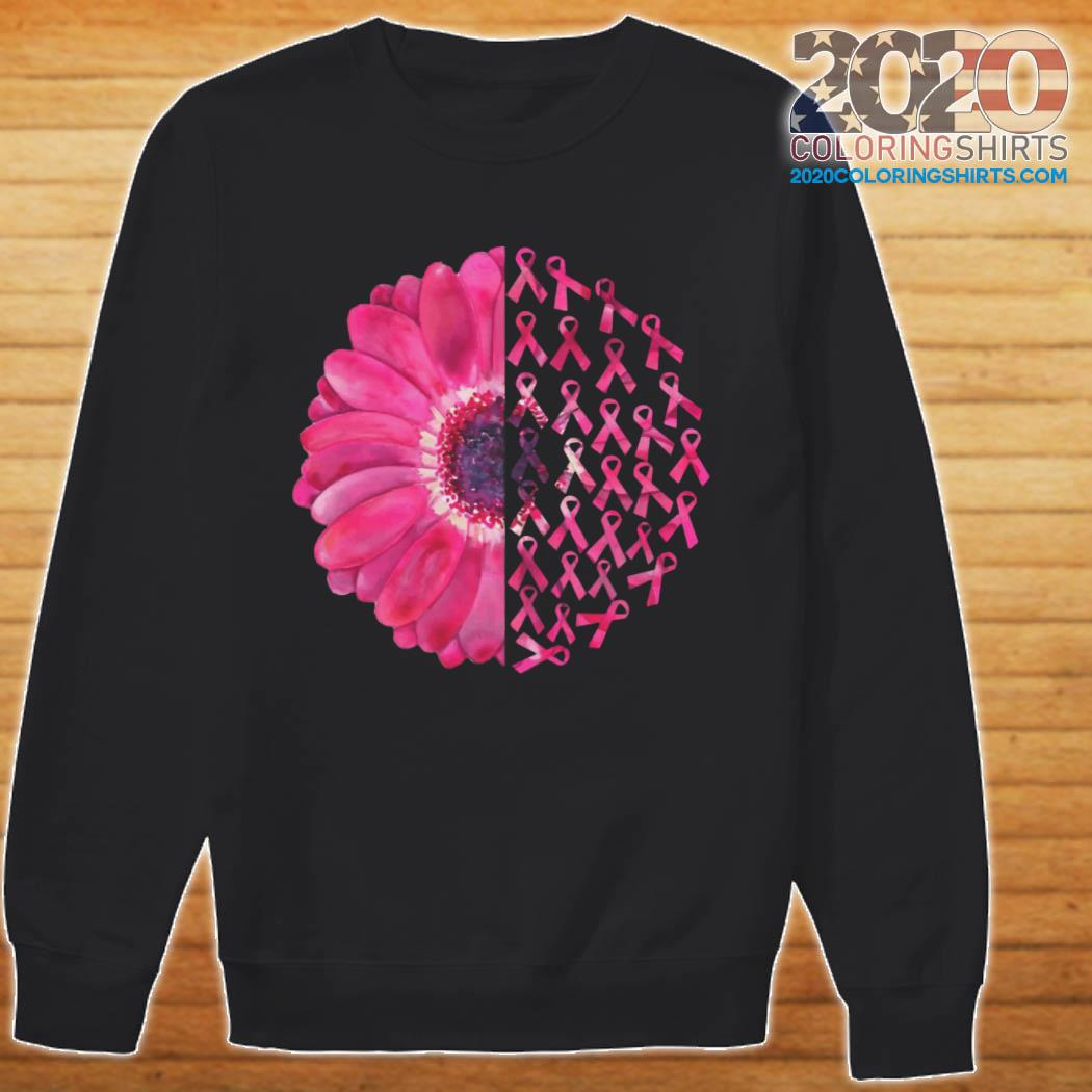 Pink Flower Breast Cancer Survivor ShirtPink Flower Breast Cancer Survivor sweater