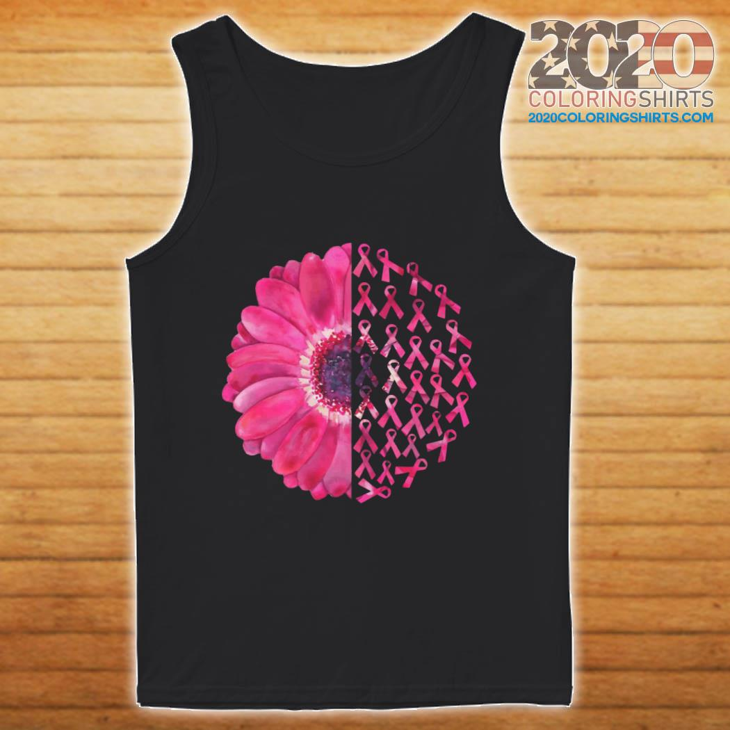 Pink Flower Breast Cancer Survivor ShirtPink Flower Breast Cancer Survivor tank top