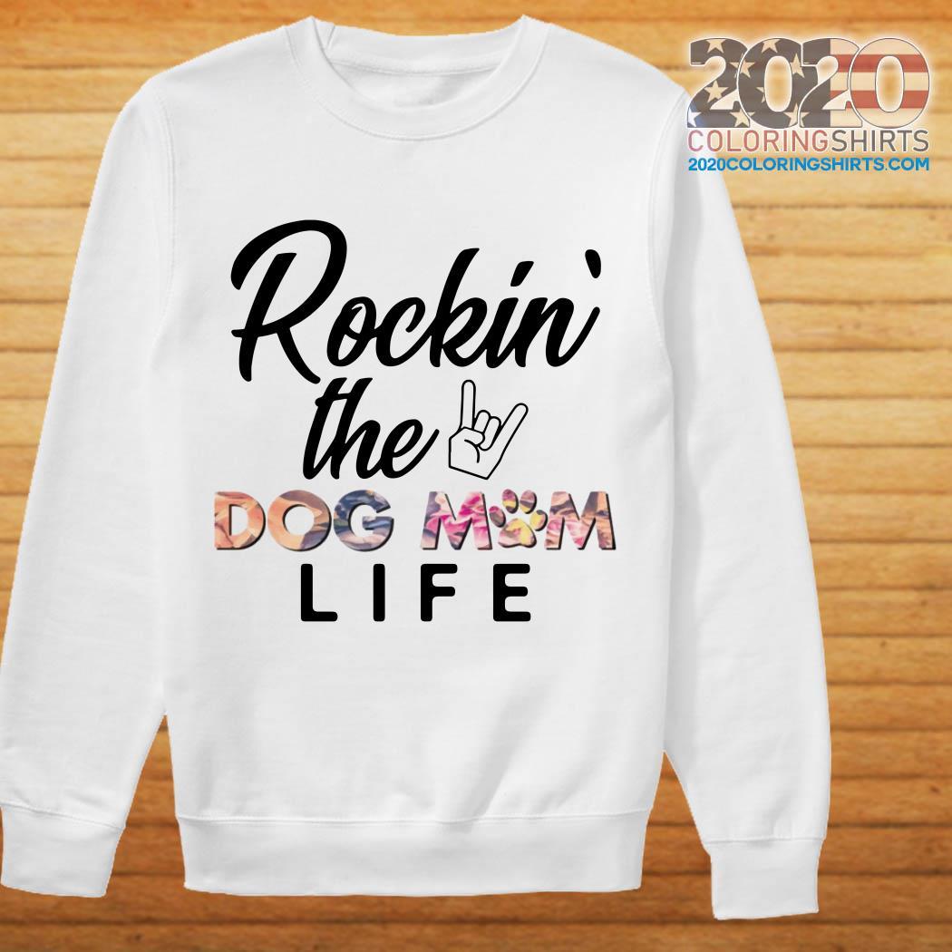 Rockin' The Dog Mom Life Flower sweater
