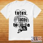 Tatas Tacos And Tequila Breast Cancer Awareness Shirt