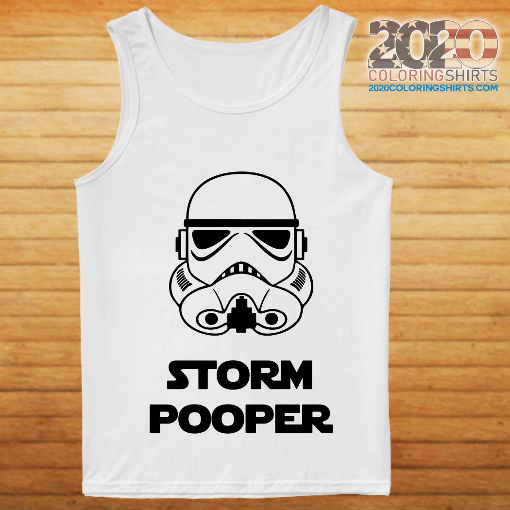 Star war storm pooper shirt