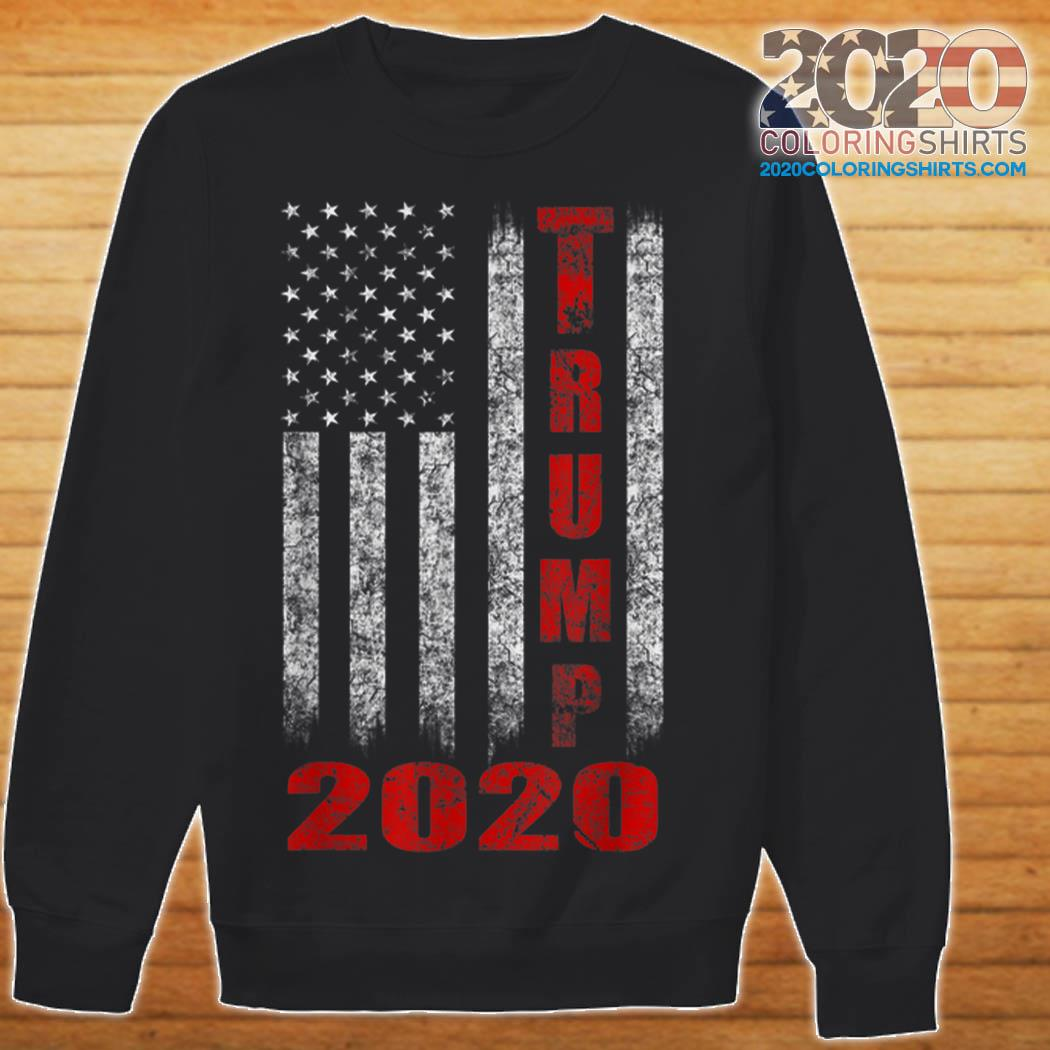 tank 2020 Flag Trump top Awesome shirt, hoodie,  American