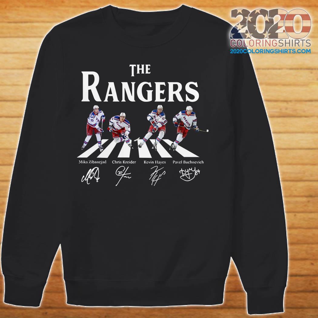 uk availability ab6c4 f459b The Rangers Mika Zibanejad Chris Kreider Kevin Hayes Pavel Buchnevich shirt