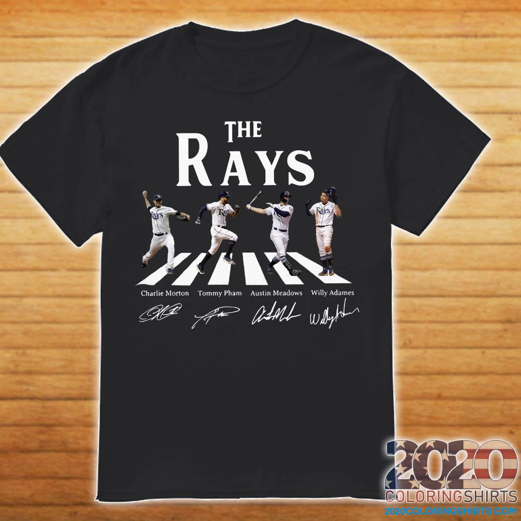 on sale 69a14 ecbd0 The Rays Charlie Morton Tommy Pham Austin Meadows Willy Adames shirt