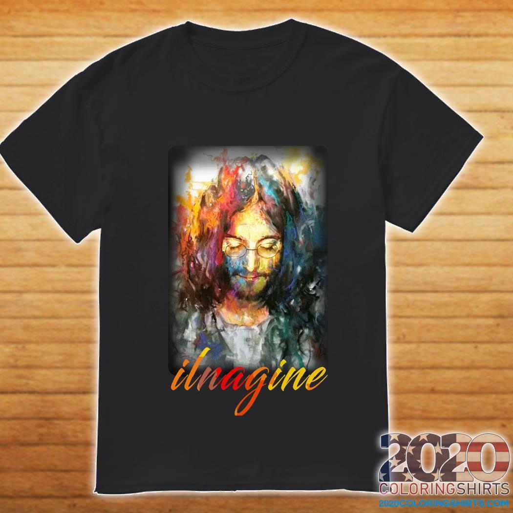 John Lennon Ilnagine Colorful shirt