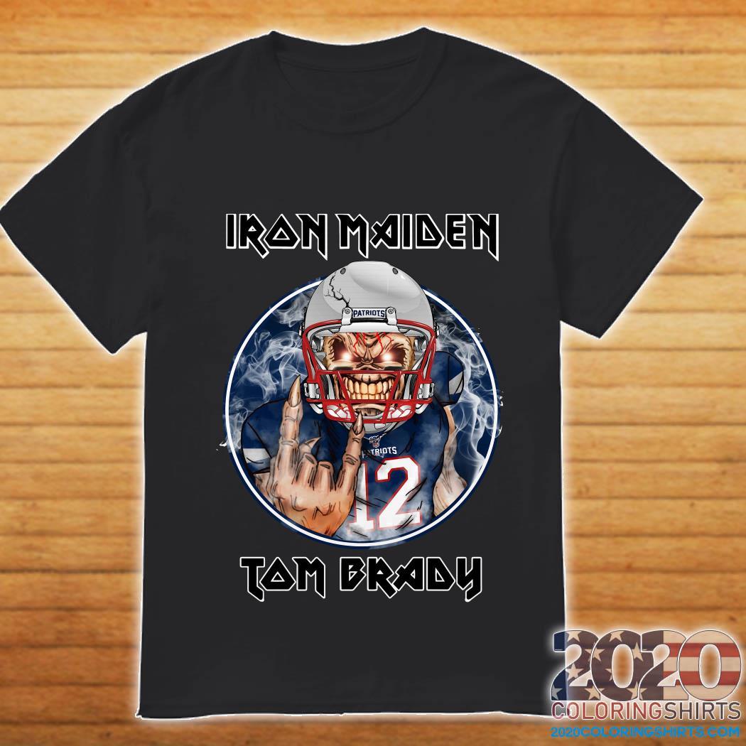 New England Patriots Iron Maiden Tom Brady Shirt