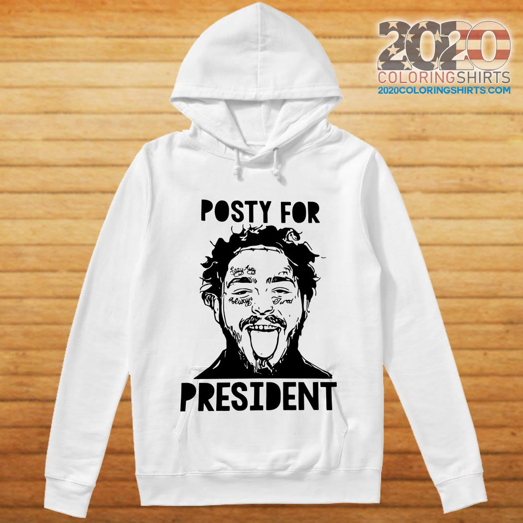 Post Malone Posty For President Shirt 2020coloringshirts