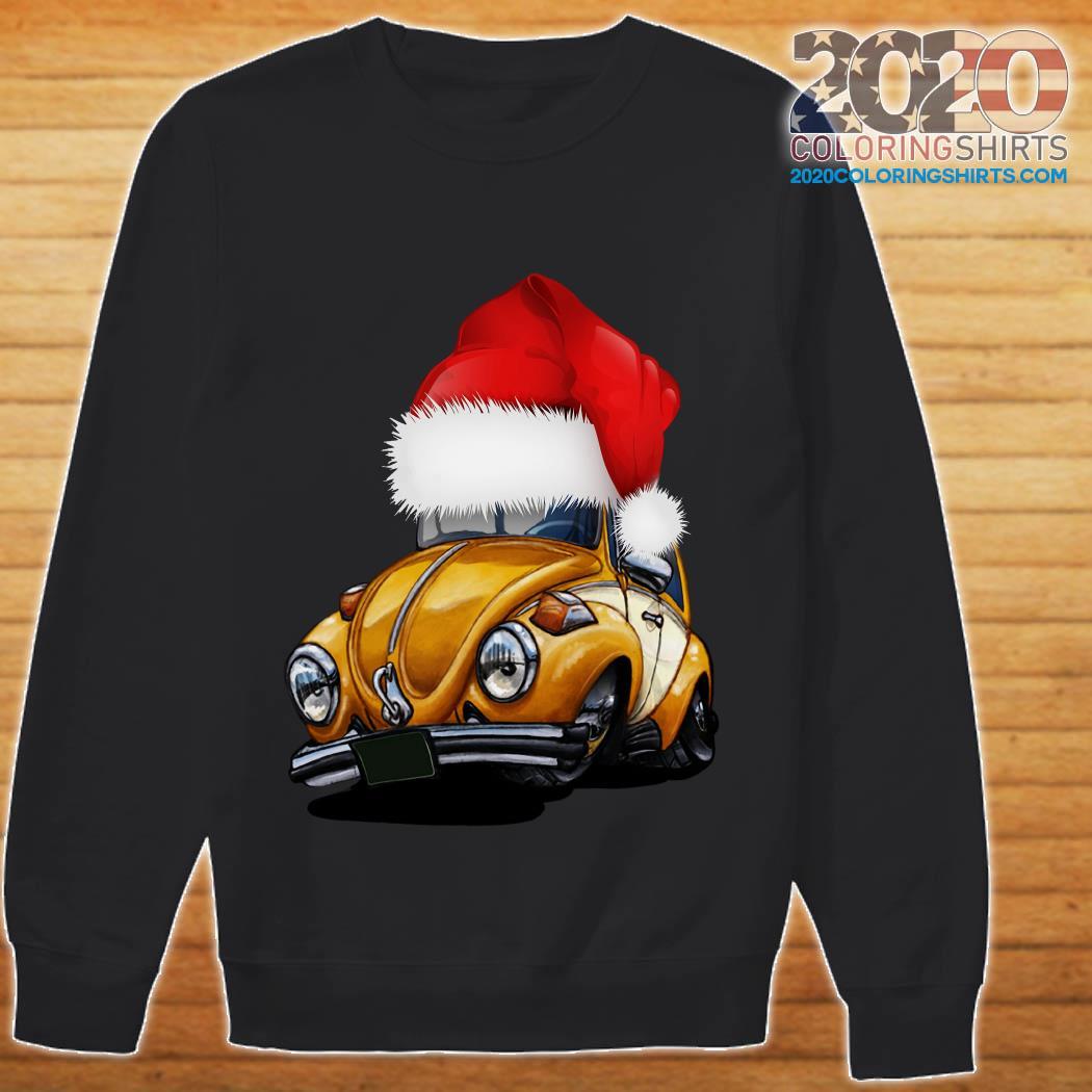 Beetle Car Santa Christmas Sweatshirt