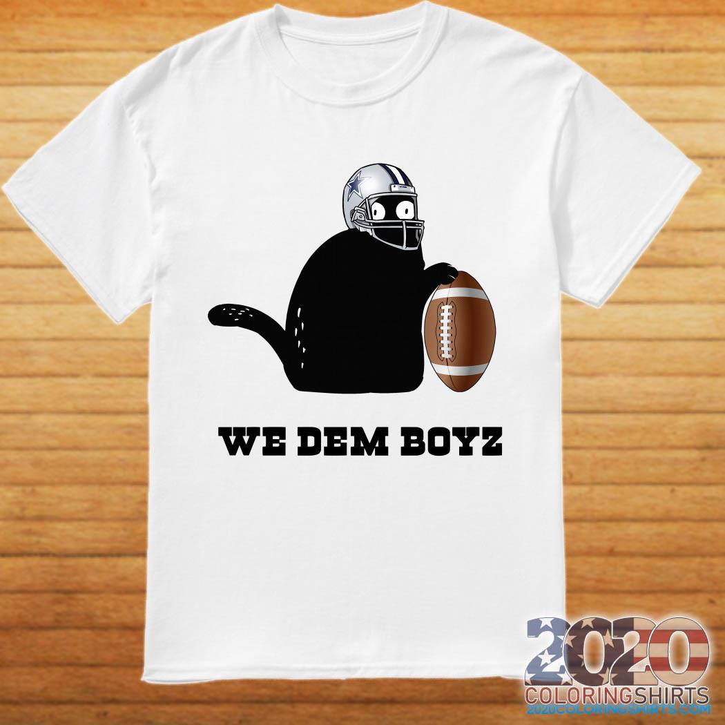 Black Cat Dallas Cowboys We Dem Boyz Shirt