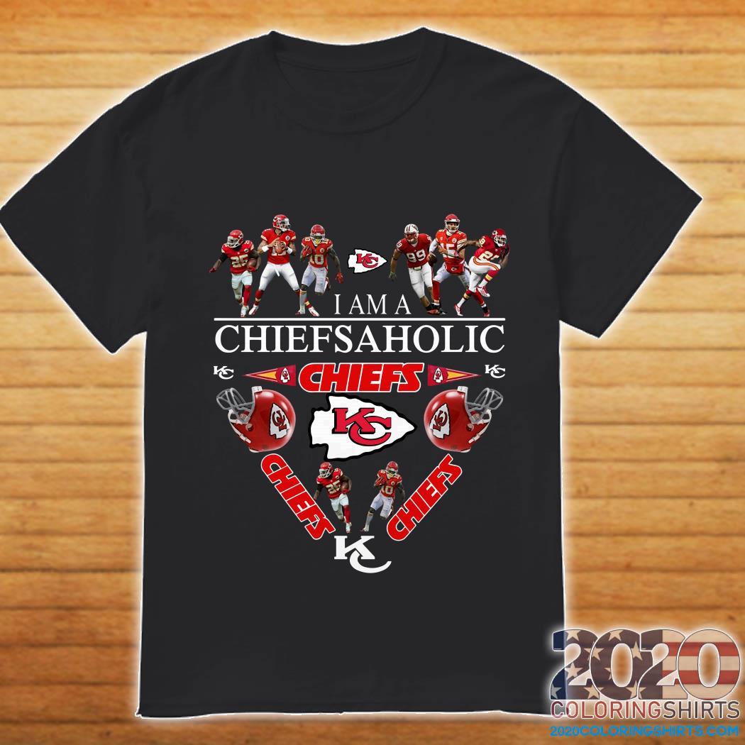 I am a Chiefs Aholic shirt