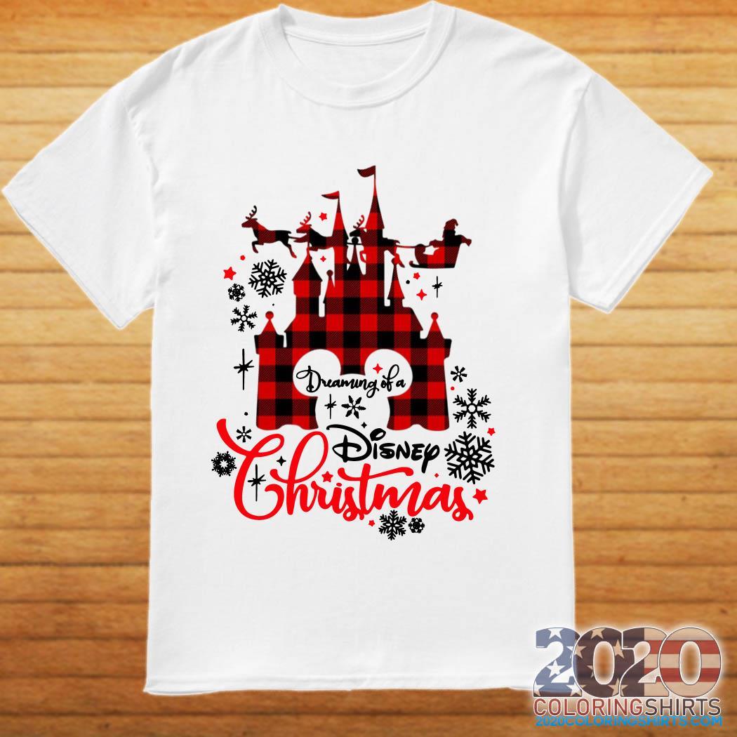 Disneyland Dreaming of a Disney Christmas shirt