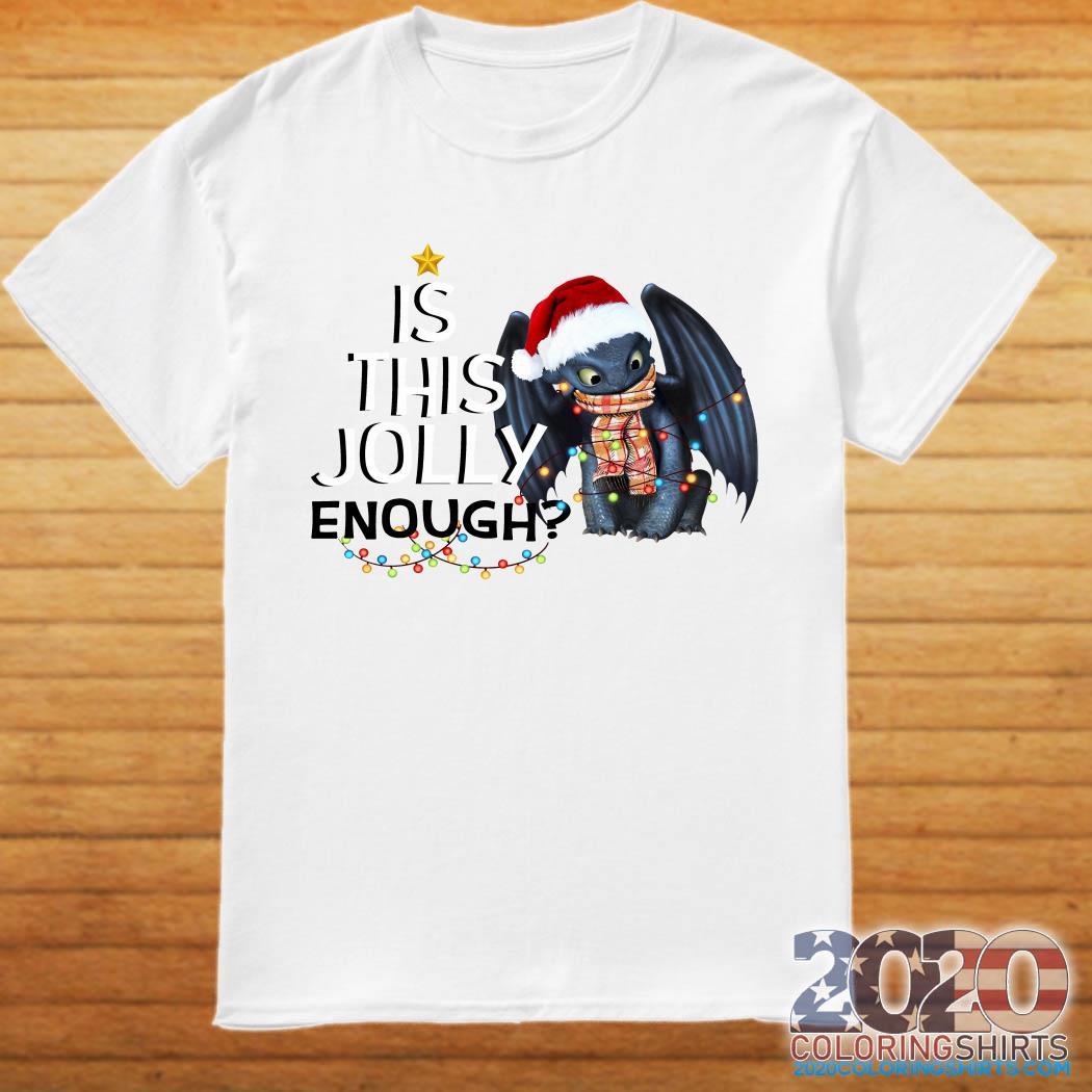 Night Fury is this jolly enough christmas shirt