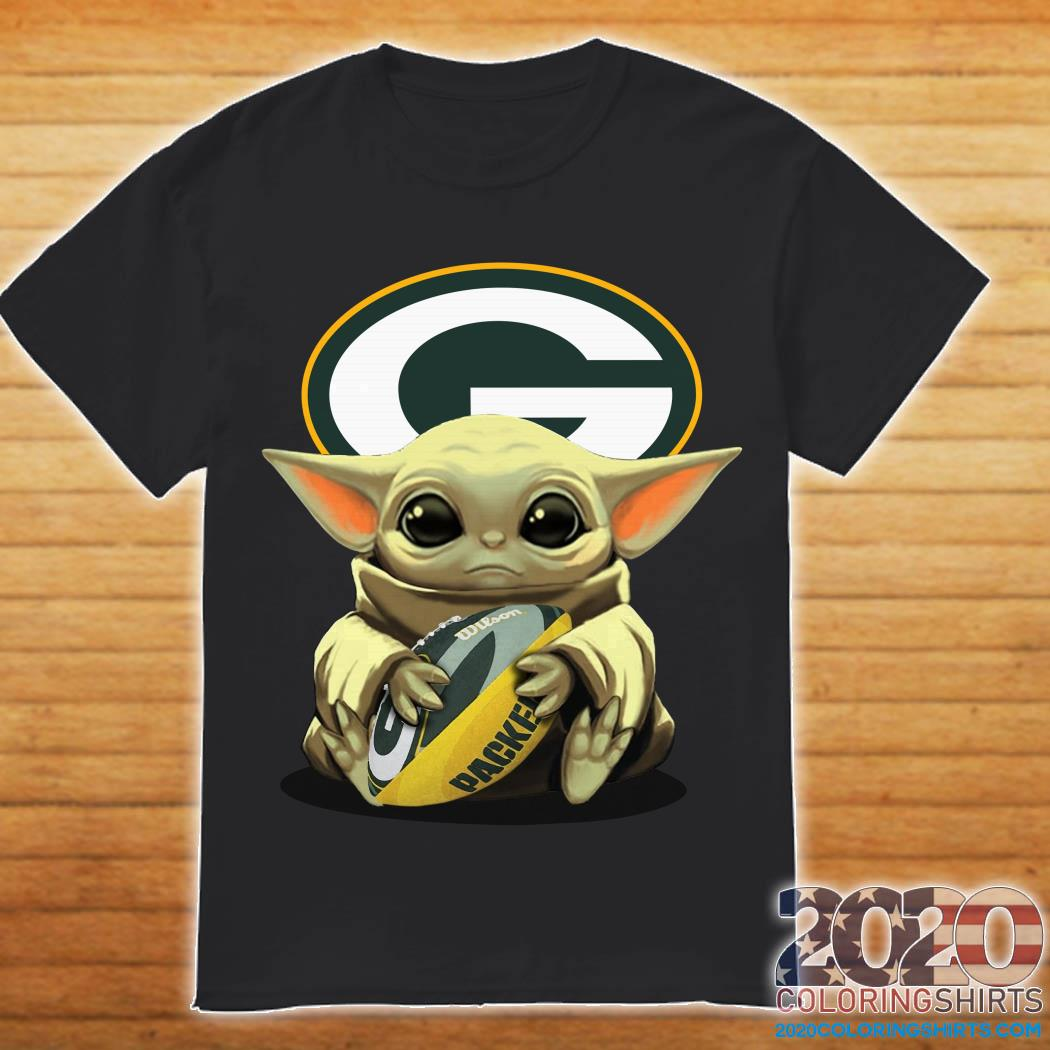 Baby Yoda Hug Green Bay Packers Shirt Hoodie Tank Top And Sweater