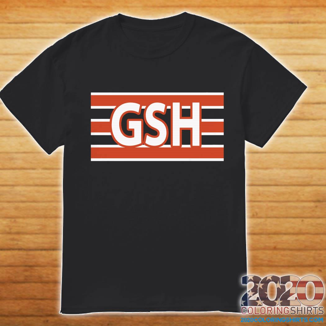 George S Halas GSH Chicago Bears shirt