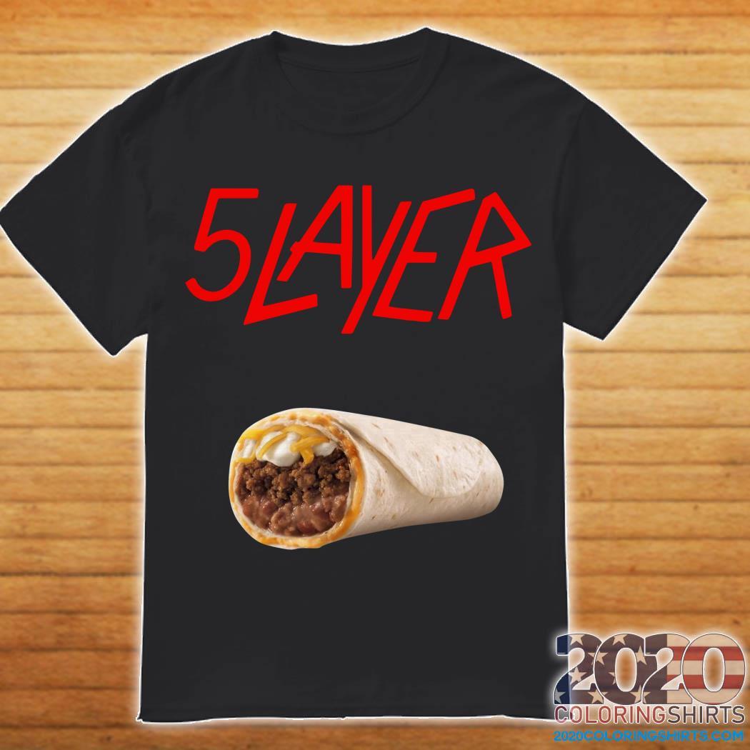 5 Layer Tacos Shirt
