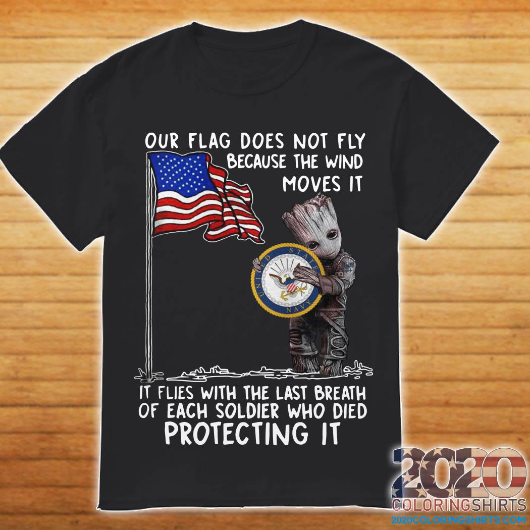 baby-groot-hug-united-state-navy-flag-not-fly-wind-moves-shirt