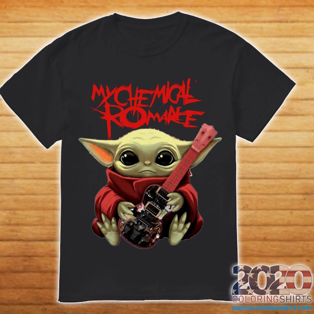 Baby Yoda and Chemical Romance shirt