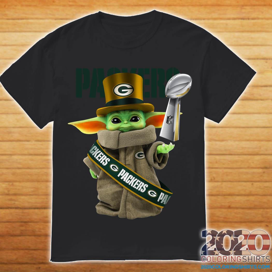 Baby Yoda Green Bay Packer Cup Shirt