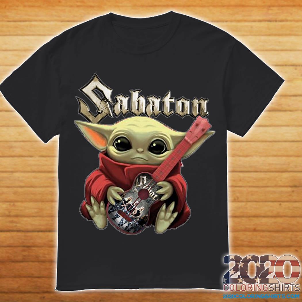 Baby Yoda Hug Sabaton Shirt