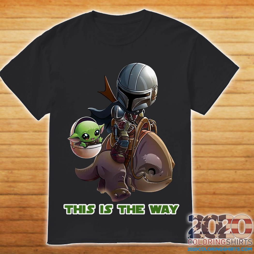 Baby Yoda And Jaster Mereel This Is The Way Shirt