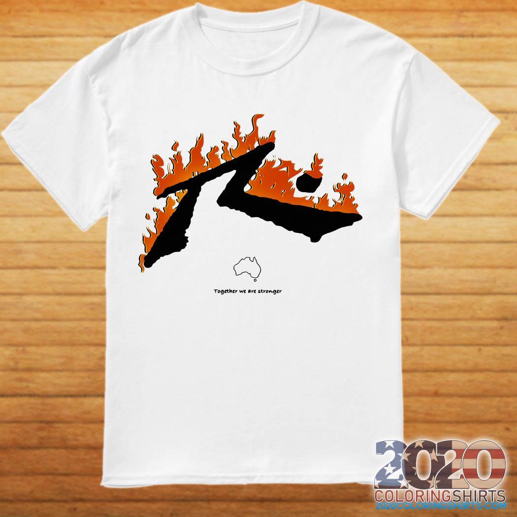 Bushfire Relief Fundraising Shirt