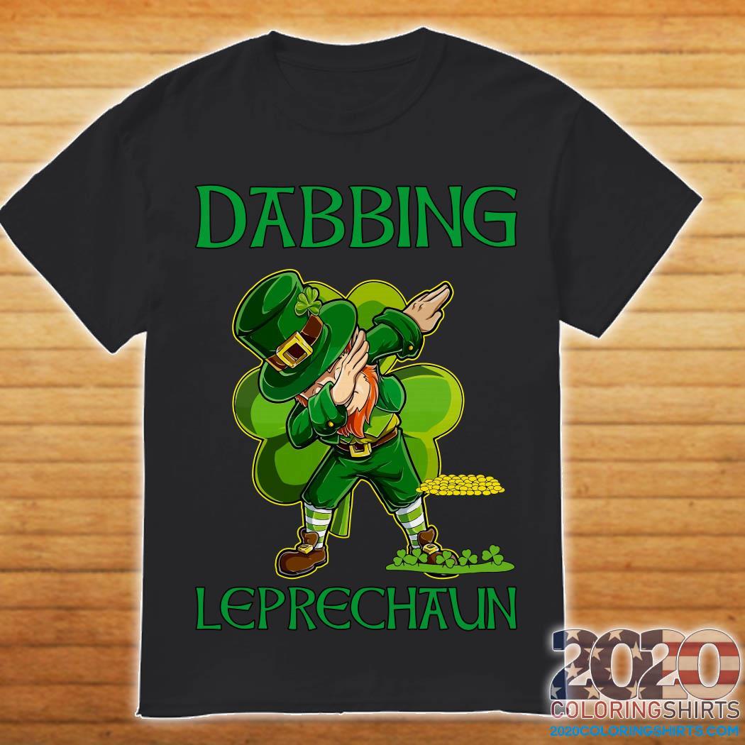 Dabbing Leprechaun St Patrick's Day Shirt