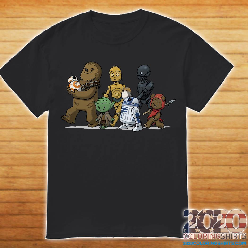 Star Wars Chibi Characters Shirt