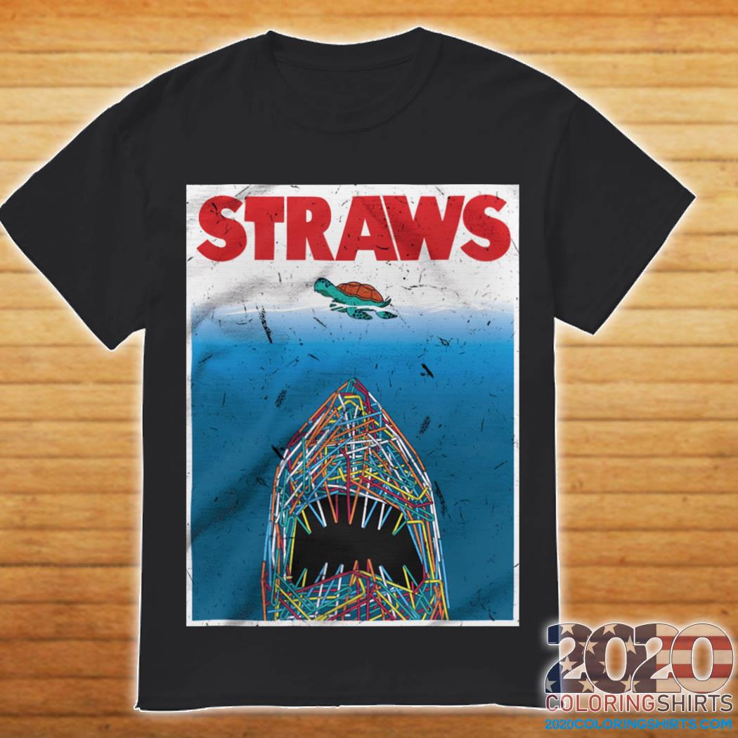 Straws Shark Shirt