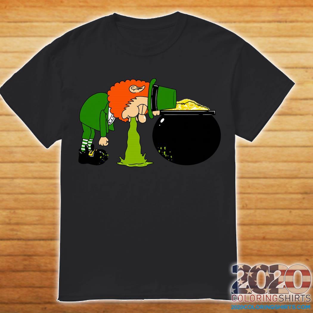 Throw Up Patrick's Day Shirt