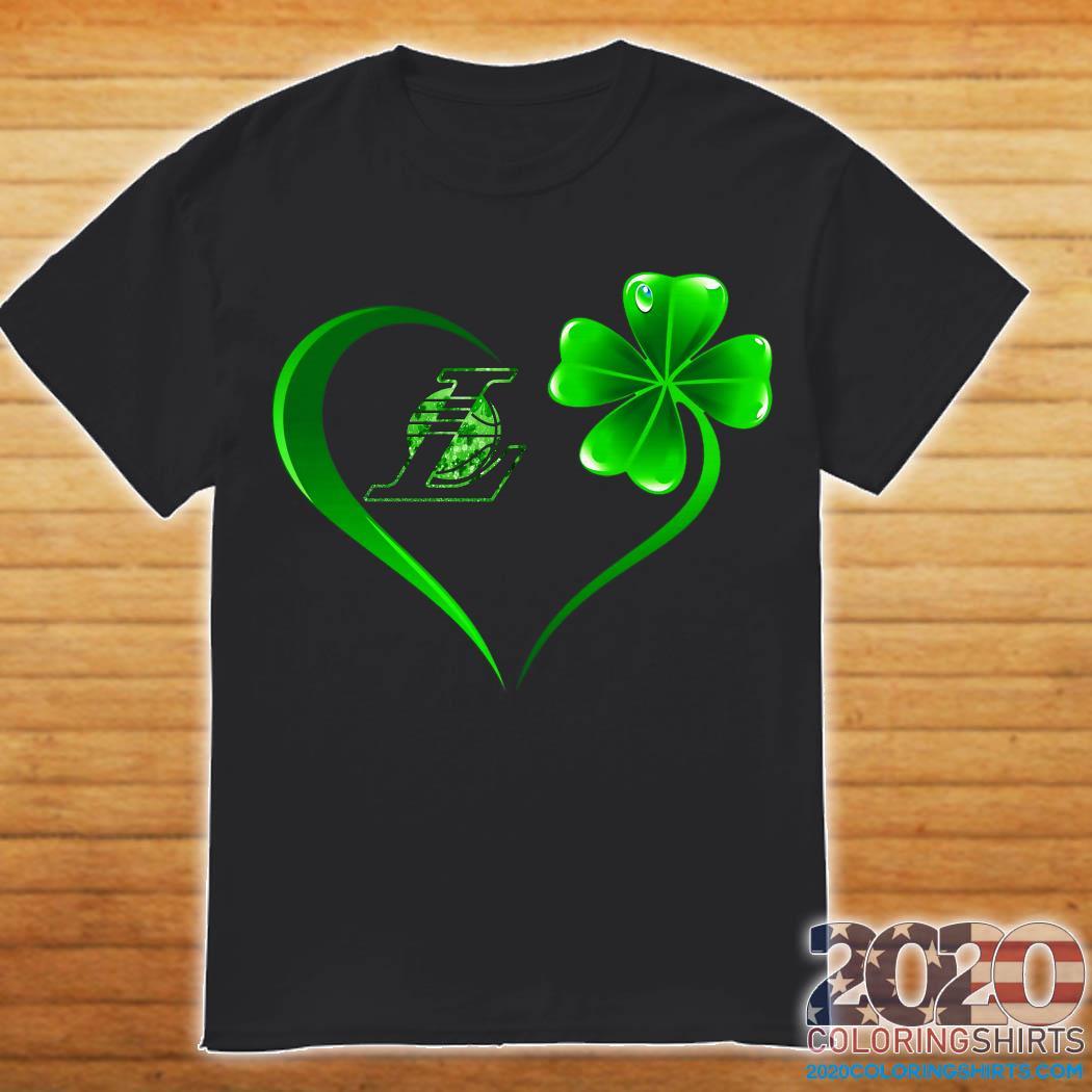 Heart Irish Los Angeles Laker Shirt