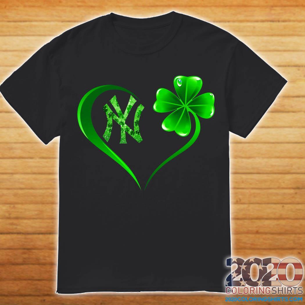 Heart Irish New York Yankees Shirt