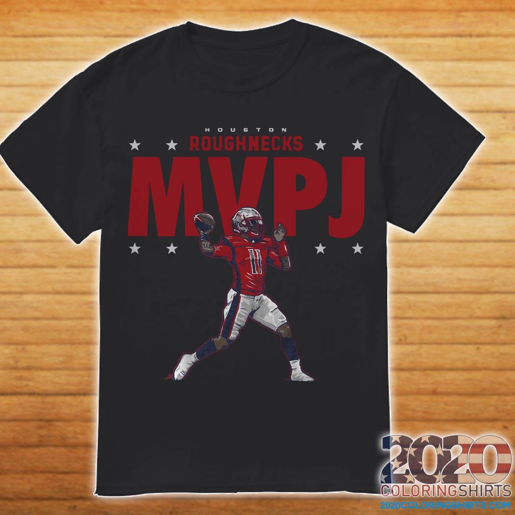 Houston Roughnecks MVPJ Shirt