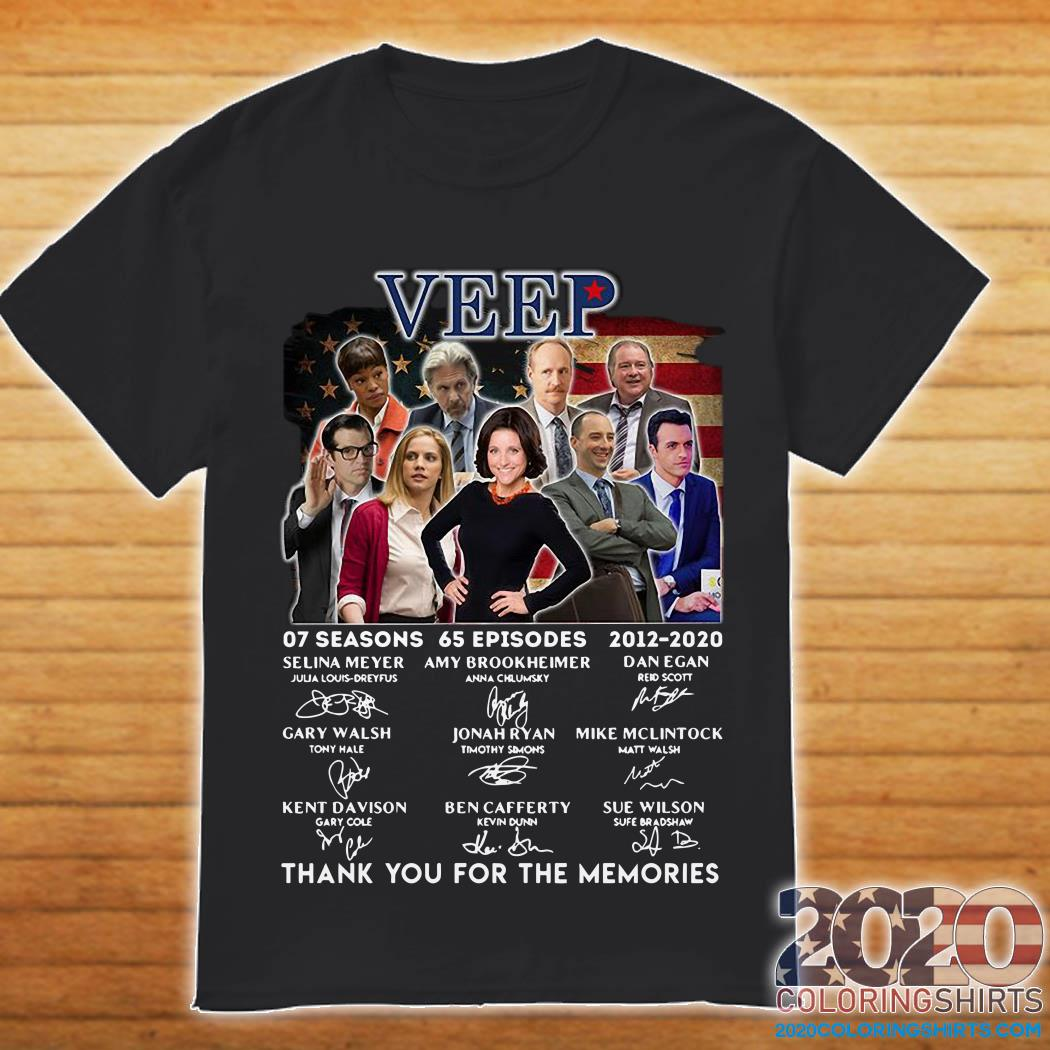 Veep Characters Thank You For The Memories Shirt