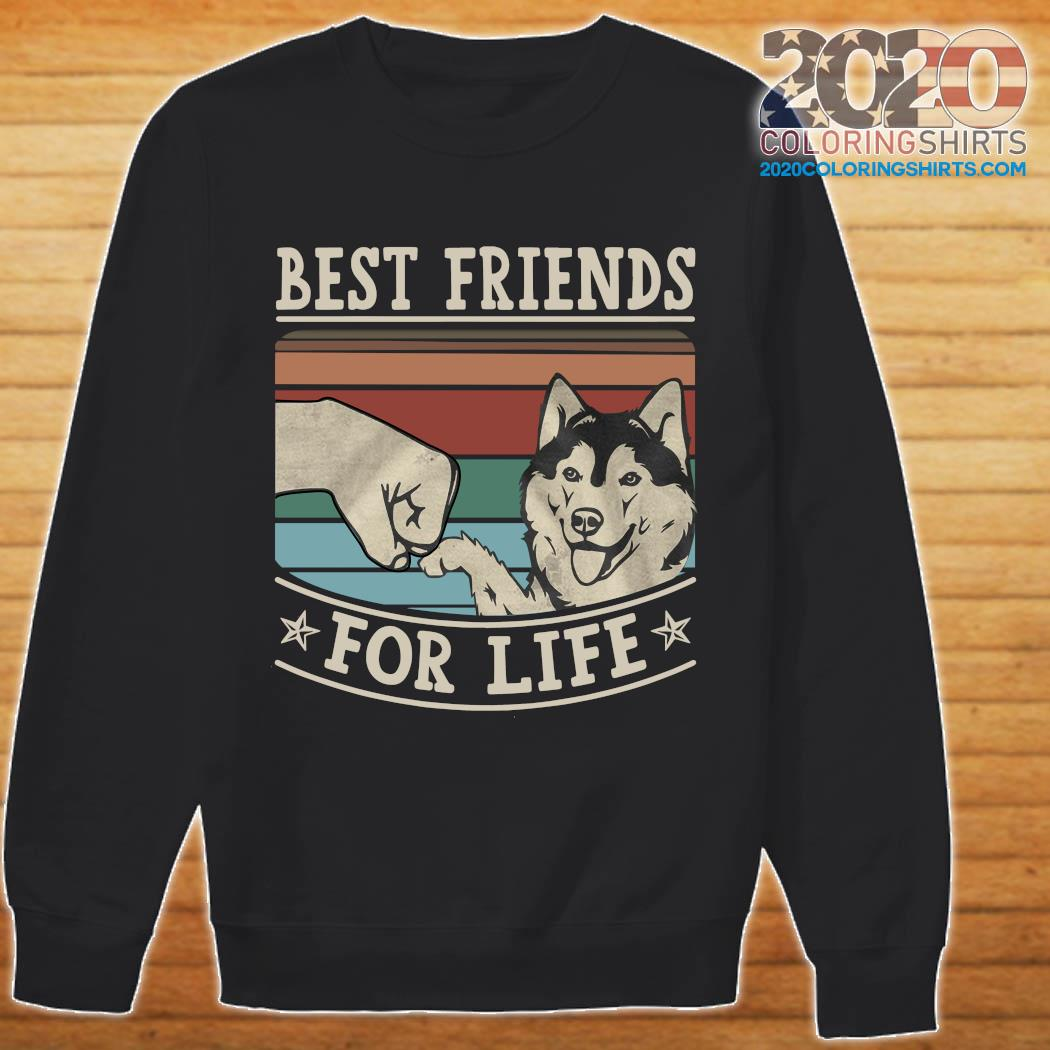 Husky Mom Fur Life Crewneck Sweatshirt