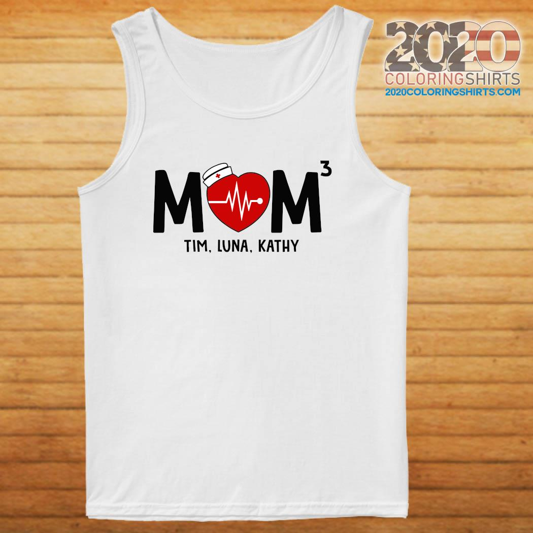 Mom Nurse Heartbeat 3 Tim Luna Kathy Shirt tanktop
