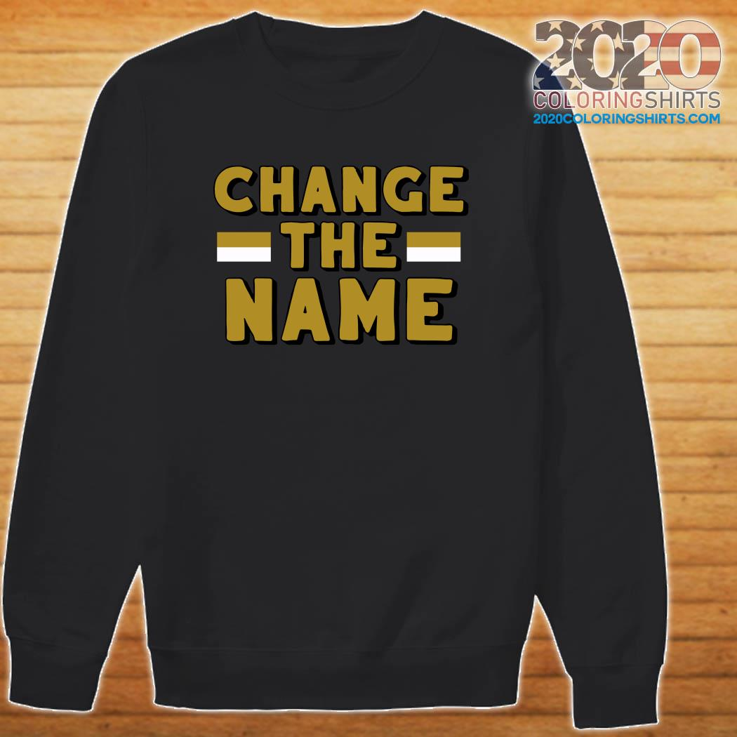 Change The Name Shirt Sweater