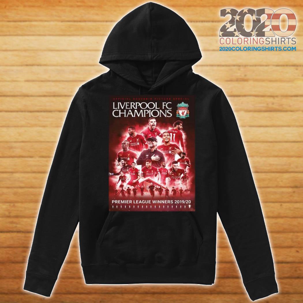 Liverpool Fc Champions Premier League Winner 201920 Shirt Hoodie